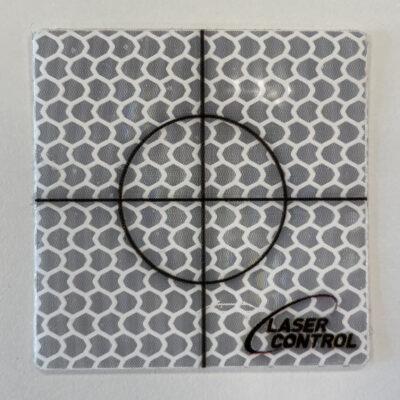 Zelfklevende targets 40×40mm wit (50 stuks)