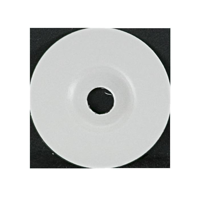 Rondelle wit voor epoxy nagel (100 stuks)