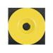 Rondelle geel voor epoxy nagel (100 stuks)