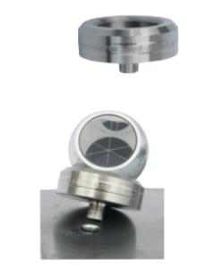Kogelbasis (magneet) voor met Ø10mm staafje