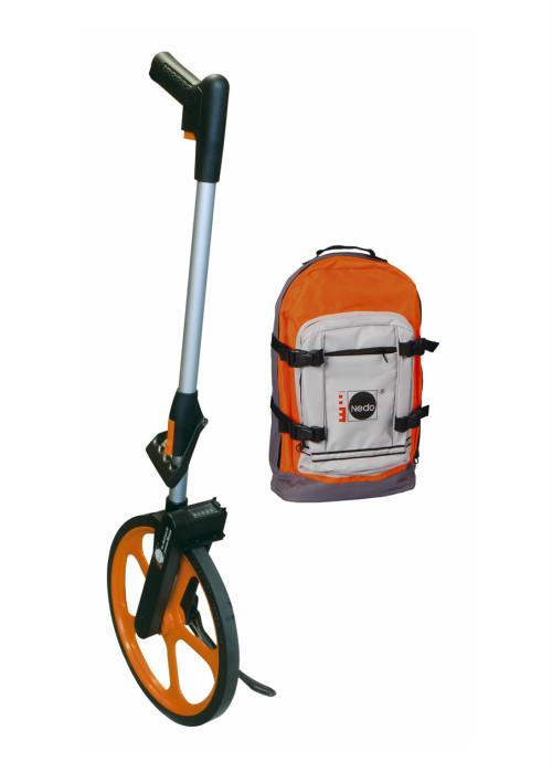 Lichtgewicht meetwiel Deluxe met trekking-rugzak